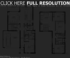 storey residential house floor plans home design decor ideas two