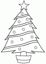 christmas christmas treeble clipart patterns trace the pattern