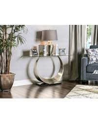 Silver Sofa Table Find The Best Black Friday Savings On Furniture Of America Serenia