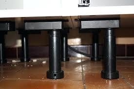 pied de meuble de cuisine pied de meuble ikea best pied de table inox ikea with pied de