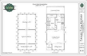 Tiny Cottages Floor Plans Plan 613 A