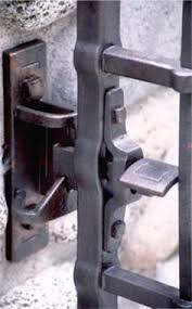 unique metal gate lock box gate lock and latch design