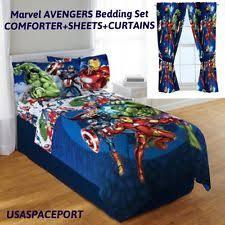 Avengers Duvet Cover Single Avengers Comforter Ebay