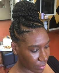 african american french braid updo hairstyles hair pinterest