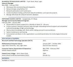good cv sample jobs vacancies nigeria