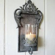 Brown Wall Sconces Sconce Lantern Candle Wall Sconce Indoor Brown Lantern Set Of