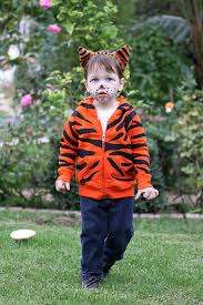 Baby Tiger Costumes Halloween Sew Tiger Costume Baby Bullet Blog