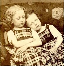 these examples of victorian post mortem photography are unsettling