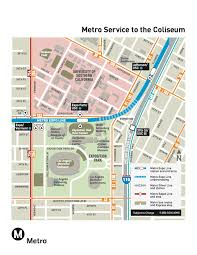 Ucla Parking Map Go Metro To Ucla And Usc Football Season Openers On Saturday The