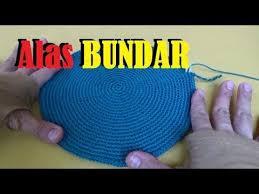 tutorial merajut alas tas crochet cara menentukan ukuran alas tas atau dompet rajut