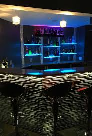 Modern Home Bar by Led Lighted Floating Shelves Customized Designs C3 A2 C2 84 Ultra