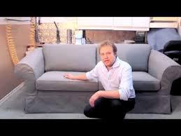 Slipcovered Sofa Bed Slipcovered Sofabed Youtube