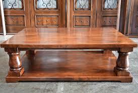 turned leg coffee table rustic turned leg coffee table demejico