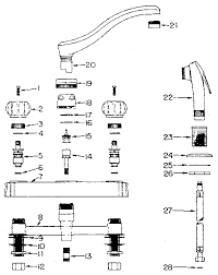 Kitchen Sink Faucet Parts Diagram Parts Of A Sink Faucet Sink Ideas