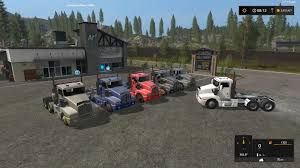 2016 kenworth t600 kenworth t600 semi truck v1 1 0 0 fs17 farming simulator 17 mod