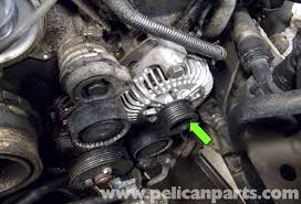 2002 bmw x5 alternator replacement bmw e60 5 series n62 8 cylinder alternator replacement pelican