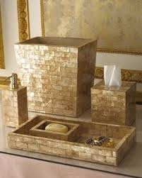 Brown Bathroom Accessories by Gold Bathroom Accessories Sets 饰品 Pinterest Zariadenie