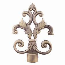 Metal Curtain Rods And Finials Metal Curtain Rods Finials Made Of Aluminium Alloy Global Sources