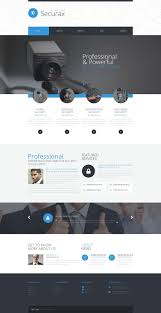 informational website templates website template 53386 securax security systems custom website
