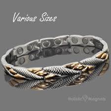 ladies magnetic bracelet images Ladies bio magnetic bracelet polished steel rose gold gift boxed jpg