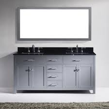 72 In Bathroom Vanity by Virtu Usa Md 2072 Bgsq Gr 001 Caroline 72 In Bathroom Vanity Set