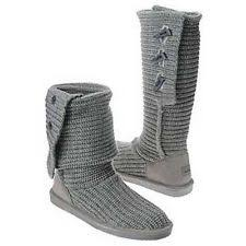 s knit boots size 12 gray knit boots ebay