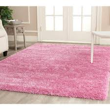 5 X5 Rug Home Decorators Collection Faux Sheepskin Pink 3 Ft X 5 Ft