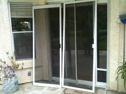Anderson Patio Screen Door by Decor Almond French Sliding Door With Screen For Home Decoration
