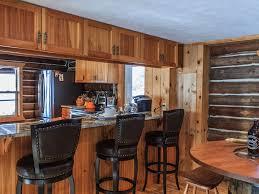 1950 Kitchen Furniture Cozy Lake Front 1950 U0027s Log Home Vrbo