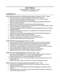 exles of hr resumes extraordinary design sle hr resume 4 exle executive