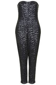 topshop jumpsuit topshop sequin bandeau jumpsuit where to buy how to wear
