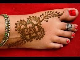 simple easy feet mehndi designs for hands matroj mehndi designs