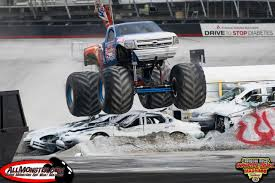 monster truck racing association bristol tennessee thompson metal monster truck madness july