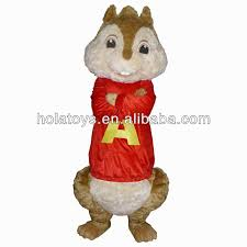 alvin chipmunks costumes adults mascot costume
