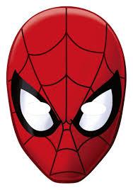 printable spiderman mask