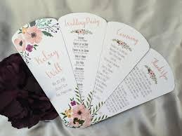Fan Kits For Wedding Programs Fan Wedding Programs 2017 Wedding Ideas Gallery Wedding