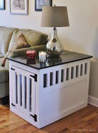 How To Build An End Table Best 25 Dog Crate End Table Ideas On Pinterest Metal Dog Kennel