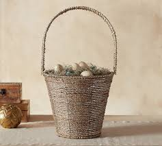 Pottery Barn Baskets With Liners Pottery Barn Easter Sale 40 Easter Decorations Easter Baskets