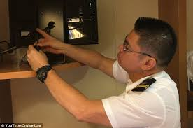 spy camera in the bedroom family find hidden camera their carnival cruise ship cabin daily