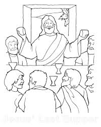 The Last Supper Coloring Page 129 Amazing Pages Free Superhero Last Supper Coloring Page
