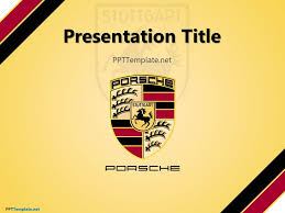 powerpoint themes free cars porsche ppt template