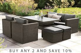 garden furniture patio sets rattan garden furniture next