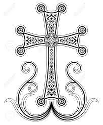 armenian crosses traditional armenian apostolic church cross clip cross with