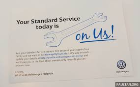 volkswagen malaysia ad volkswagen owners in m u0027sia get a free service today