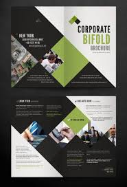 free corporate bifold brochure template download free powerpoint