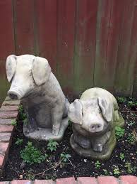 ornamental pigs for the garden bargain in acton gumtree
