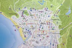 Map Of The Whole World by See Los Santos The Town That Plays La In Grand Theft Auto V