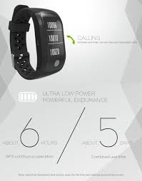 s908 gps bluetooth band multiple movement patterns heart rate