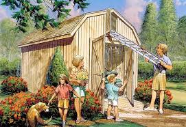 project plan 85921 yard barn with loft storage