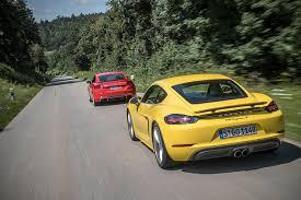 lexus is 250 vs audi tt 2018 audi tt rs vs 2017 porsche 718 cayman s automobile magazine